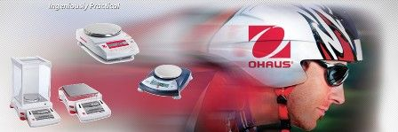 OHAUS Balances and Scales