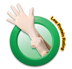 LabGuard Latex Gloves