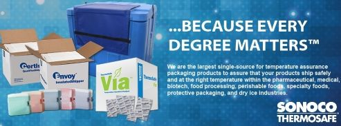 Sonoco ThermoSafe Temperature Assurance Packaging Products