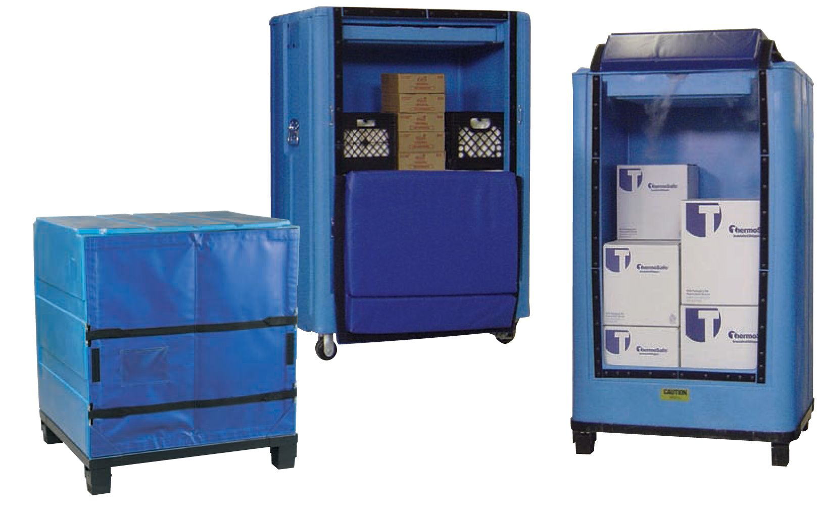 Upright Style Containers and Carts